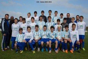 U15 - Saison 2015 2016