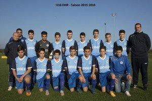 U16 - Saison 2015 2016